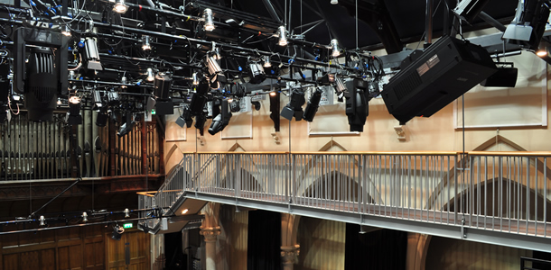 Clifftown Theatre - Theatre Sound & Light Installation